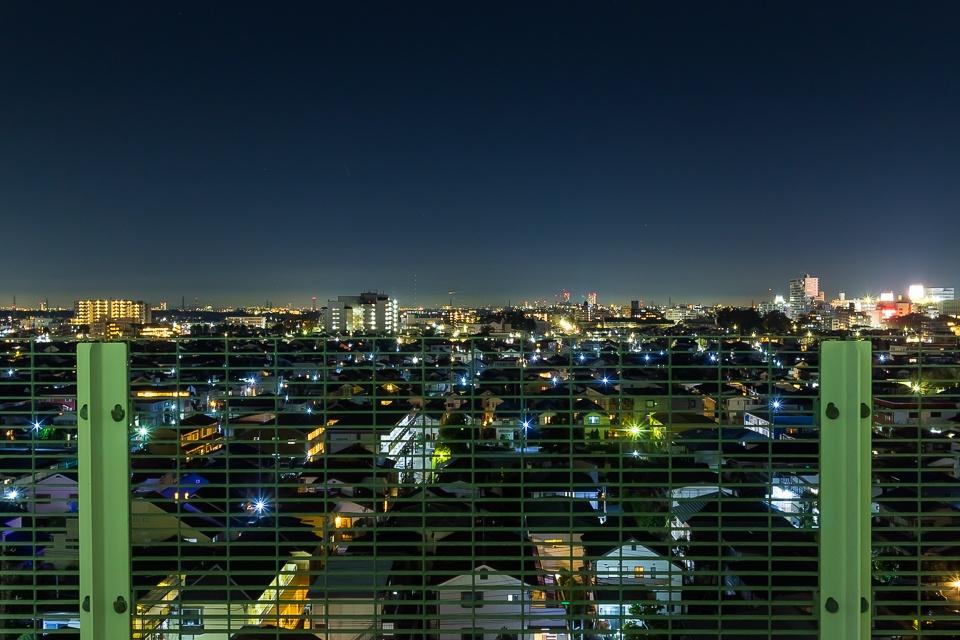 病室からの夜景